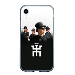 Чехол iPhone XR матовый Пикник