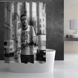 Шторка для душа Rami Malek цвета 3D — фото 2
