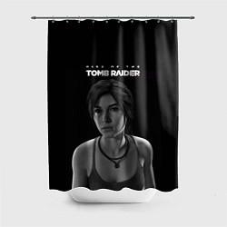 Шторка для душа Rise if The Tomb Raider цвета 3D-принт — фото 1