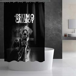 Шторка для душа Eskimo Callboy цвета 3D-принт — фото 2