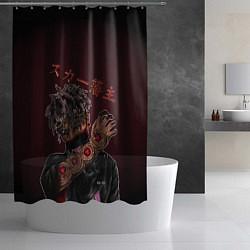 Шторка для душа SCARLXRD: Dark Man цвета 3D — фото 2