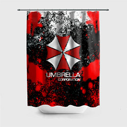 Шторка для душа UMBRELLA CORP цвета 3D — фото 1