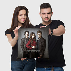 Подушка квадратная Vampire Trio цвета 3D — фото 2