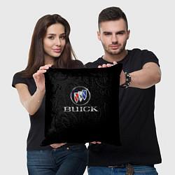 Подушка квадратная Buick цвета 3D — фото 2