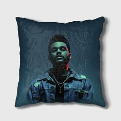 Подушка квадратная The Weeknd цвета 3D — фото 1