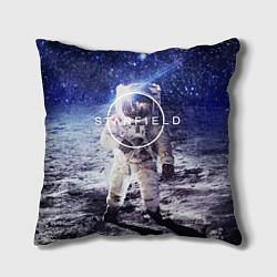 Подушка квадратная Starfield: Astronaut цвета 3D-принт — фото 1