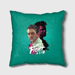 Подушка квадратная Fight Club Stories цвета 3D-принт — фото 1