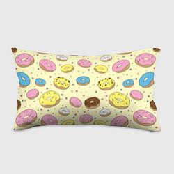 Подушка-антистресс Сладкие пончики цвета 3D — фото 1