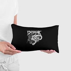 Подушка-антистресс Dethklok: Goat Skull цвета 3D-принт — фото 2