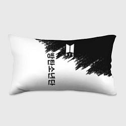 Подушка-антистресс BTS: White & Black цвета 3D — фото 1