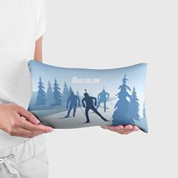Подушка-антистресс Биатлон цвета 3D-принт — фото 2