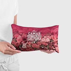 Подушка-антистресс Лучшая бабушка цвета 3D-принт — фото 2