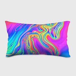 Подушка-антистресс Цветные разводы цвета 3D — фото 1
