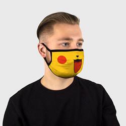 Маска для лица Pokemon Pikachu цвета 3D — фото 1