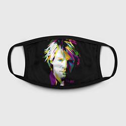 Маска для лица Jon Bon Jovi Art цвета 3D — фото 2