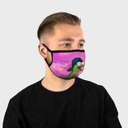 Маска для лица Удав Крейг цвета 3D — фото 1
