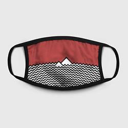 Маска для лица Горы Твин Пикс цвета 3D — фото 2