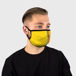 Маска для лица Молдавия: лента с гербом цвета 3D-принт — фото 1