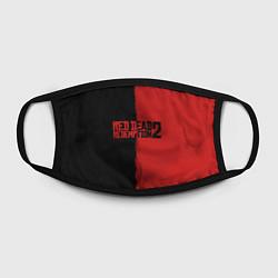 Маска для лица RDD 2: Black & Red цвета 3D-принт — фото 2