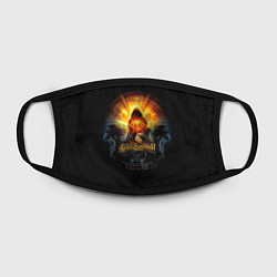 Маска для лица Blind Guardian: Guide to Space цвета 3D — фото 2