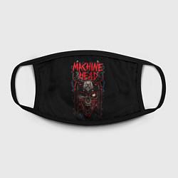 Маска для лица Machine Head: Blooded Skull цвета 3D-принт — фото 2