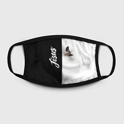 Лицевая защитная маска с принтом Dzhizus, цвет: 3D, артикул: 10201588105881 — фото 2