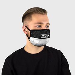 Маска для лица Muse цвета 3D-принт — фото 1