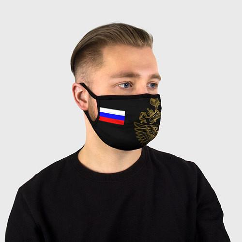 Маска для лица РОССИЯ / 3D – фото 1