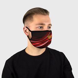Маска для лица РОССИЯ цвета 3D — фото 1