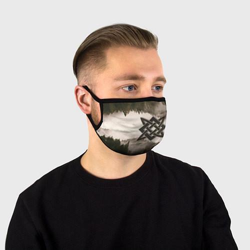 Маска для лица Квадрат Сварога / 3D – фото 1