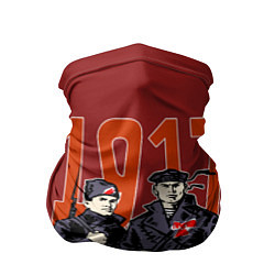 Бандана-труба с принтом 100 лет Революции, цвет: 3D, артикул: 10119811405527 — фото 1