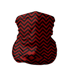 Бандана-труба Твин Пикс: Минимализм цвета 3D — фото 1