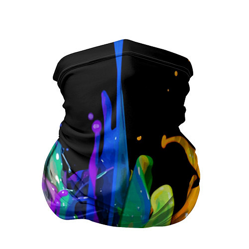 Бандана Всплеск красок / 3D – фото 1