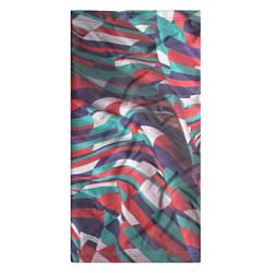 Бандана-труба Трехмерная абстракция цвета 3D — фото 2