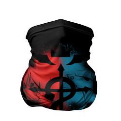 Бандана-труба Стальной алхимик цвета 3D — фото 1