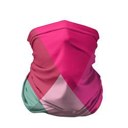 Бандана-труба Разноцветные полигоны цвета 3D — фото 1