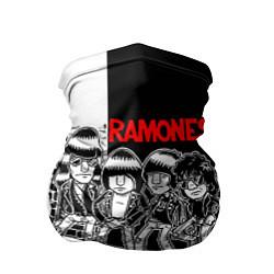 Бандана-труба Ramones Boys цвета 3D-принт — фото 1