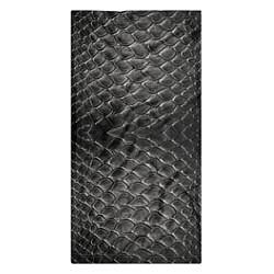 Бандана-труба Черная кожа цвета 3D — фото 2
