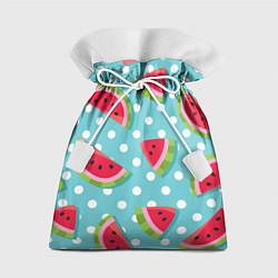 Мешок для подарков Арбузный рай цвета 3D — фото 1