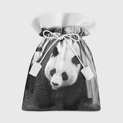 Мешок для подарков Большая панда цвета 3D — фото 1
