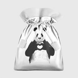 Мешок для подарков Panda Love цвета 3D-принт — фото 1