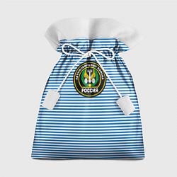 Мешок для подарков Тельняшка АВ РФ цвета 3D — фото 1