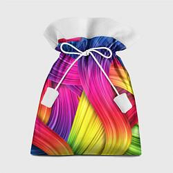Мешок для подарков Абстракция цвета цвета 3D — фото 1