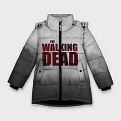 Куртка зимняя для девочки The Walking Dead цвета 3D-черный — фото 1