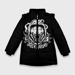 Куртка зимняя для девочки Brick Bazuka цвета 3D-черный — фото 1