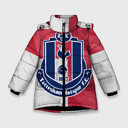 Куртка зимняя для девочки Tottenham Hotspur FC цвета 3D-черный — фото 1