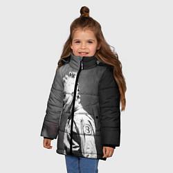 Куртка зимняя для девочки Кори Тейлор цвета 3D-черный — фото 2
