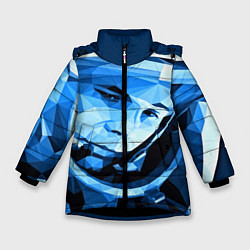 Куртка зимняя для девочки Gagarin Art цвета 3D-черный — фото 1