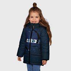 Куртка зимняя для девочки Evanescence Eyes - фото 2