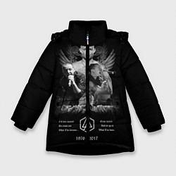 Куртка зимняя для девочки Bennington Memories цвета 3D-черный — фото 1